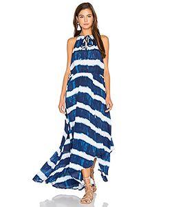 Seafolly | Tie Dye Stripe Maxi