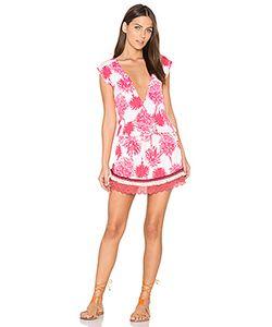Maaji | Кружевное Платье Pomergranate