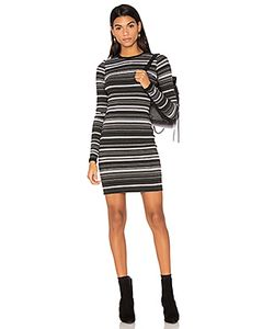 Twenty | Cascade Stripe Bodycon Dress