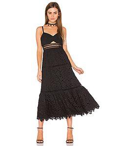 Rebecca Taylor | Кружевное Платье Без Бретелек