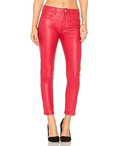 Weslin + Grant | Vegan Leather High Rise Zip Skinny