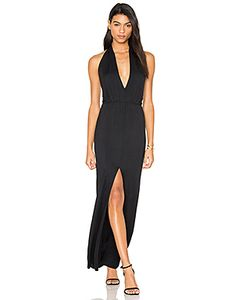 krisa | Open Halter Back Dress