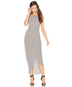 Shona Joy | Etienne High Neck Ruched Maxi Dress