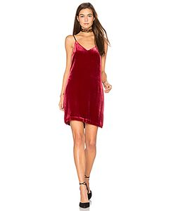 Elizabeth And James | Sidney Frosted Velvet Cami Dress