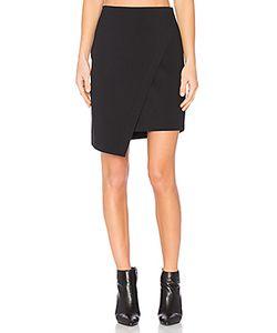 1. STATE | Asymmetrical Cross Front Skirt