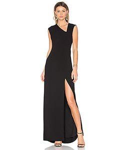 Halston Heritage | Вечернее Платье С Асимметричным Подолом