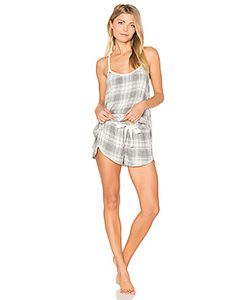 Bella Dahl | Oxford Plaid Cami Short Set