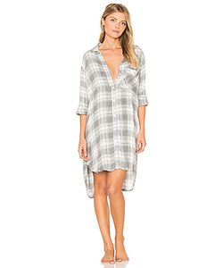 Bella Dahl | Oxford Plaid Sleep Shirt