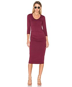 Michael Stars | Ruched Midi Dress