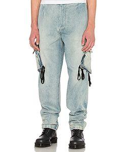 424 | Denim Cargo Pant