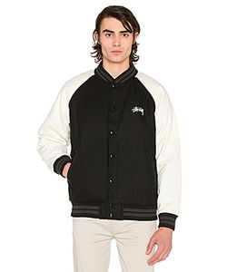 Stussy | Two Tone Wool Varsity Jacket