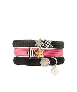 Marc Jacobs   Stripe Checkerboard Cluster Ponys