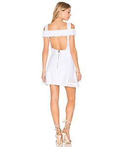 By Johnny | Marthe Lace Elastic Frill Mini Dress