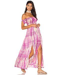 Tiare Hawaii   Макси Платье С Открытыми Плечами Hollie