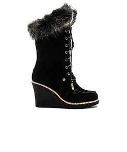 Australia Luxe Collective | Mandinka Boot With Faux Fur Cuff