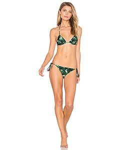Adriana Degreas | Ginkgo Triangle Tie Bikini Set