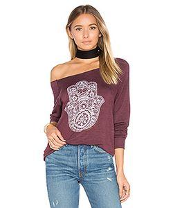 Spiritual Gangster | Пуловер Henna Hamsa