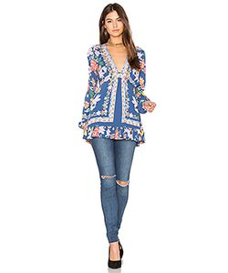 Free People | Violet Hill Printed Tunic Top