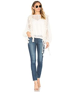 See By Chloe | Fringe Detail Long Sleeve Top