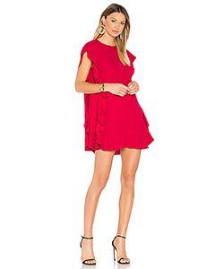Red Valentino | Цельнокройное Платье С Рюшами