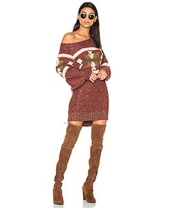 Free People | Northern Lights Sweater Mini Dress