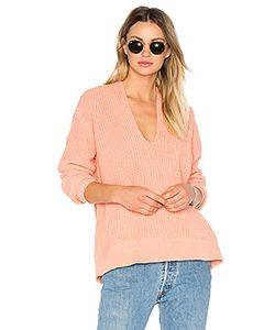 T By Alexander Wang | Deep V Neck Pullover