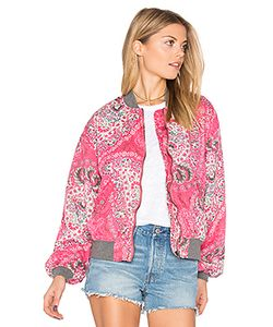 Free People | Daytrip Printed Bomber