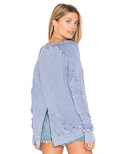 PAM & GELA | Destroyed Annie Hi Lo Sweatshirt