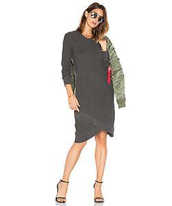 Wilt | Cross Hem Long Sleeve Dress