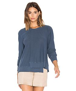 Wilt | Seamed Long Sleeve Sweatshirt