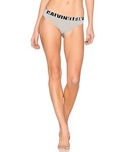 Calvin Klein | Бесшовное Бикини С Логотипом Underwear
