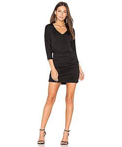 Bobi | Luxe Jersey Ruched Mini Dress