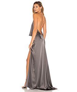 Halston Heritage | Halter Low Back Dress