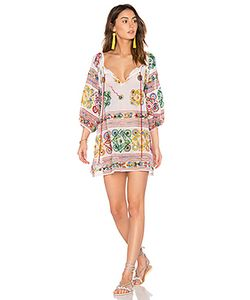 Juliet Dunn | Cotton Tribal Boho Dress