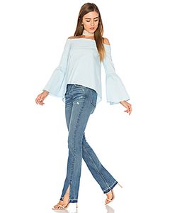 525 America | Bell Sleeve Off Shoulder Top