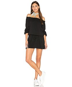 Chaser | Off Shoulder Shirred Mini Dress
