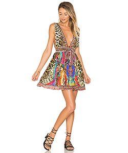 Camilla | Short Dress With Tie