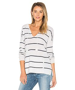 Autumn Cashmere | Tassel Striped Baja Sweater