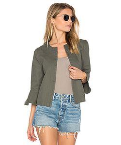 LEO & SAGE | Ruffle Sleeve Jacket