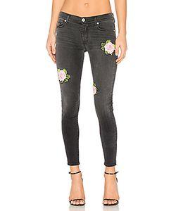 Hudson Jeans | Укороченные Узкие Джинсы Средней Посадки Nico