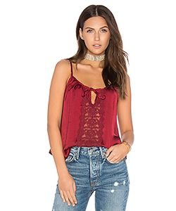 Band of Gypsies | Lace Insert Swing Cami