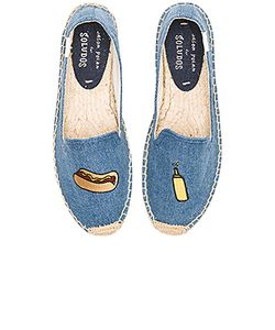 Soludos | Embroidered Smoking Slipper