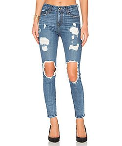 TORTOISE | Shiko High Waist Open Knee Skinny
