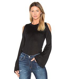 Derek Lam 10 Crosby | Bell Sleeve Cut Out Shoulder Sweater