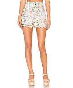 Zimmermann | Valour Hydrangea Flare Shorts