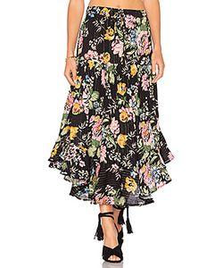 AUGUSTE   Delilah Frilled Midi Skirt