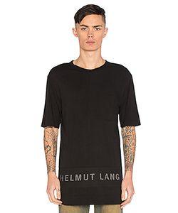 Helmut Lang   Mesh Combo Tee