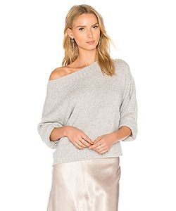 Vince | Boxy Off The Shoulder Sweater