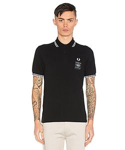 Fred Perry | X Art Comes First Printed Twin Tipped Polo