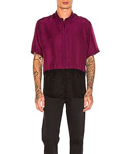 ROBERT GELLER | Two Toned Taped Shirt